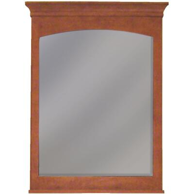 Sunny Wood Expressions Cinnamon 30 In. W x 40 In. H Vanity Mirror