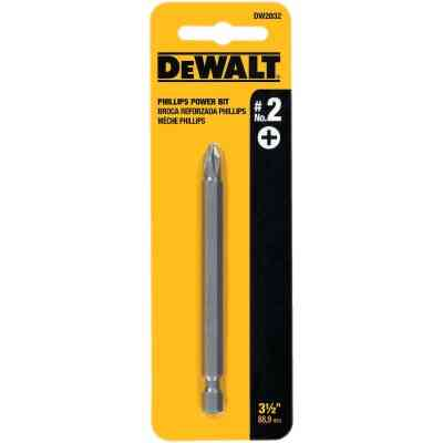 DeWalt Phillips #2 3-1/2 In. 1/4 In. Power Screwdriver Bit