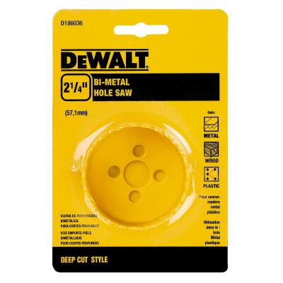 DeWalt 2-1/4 In. Bi-Metal Hole Saw