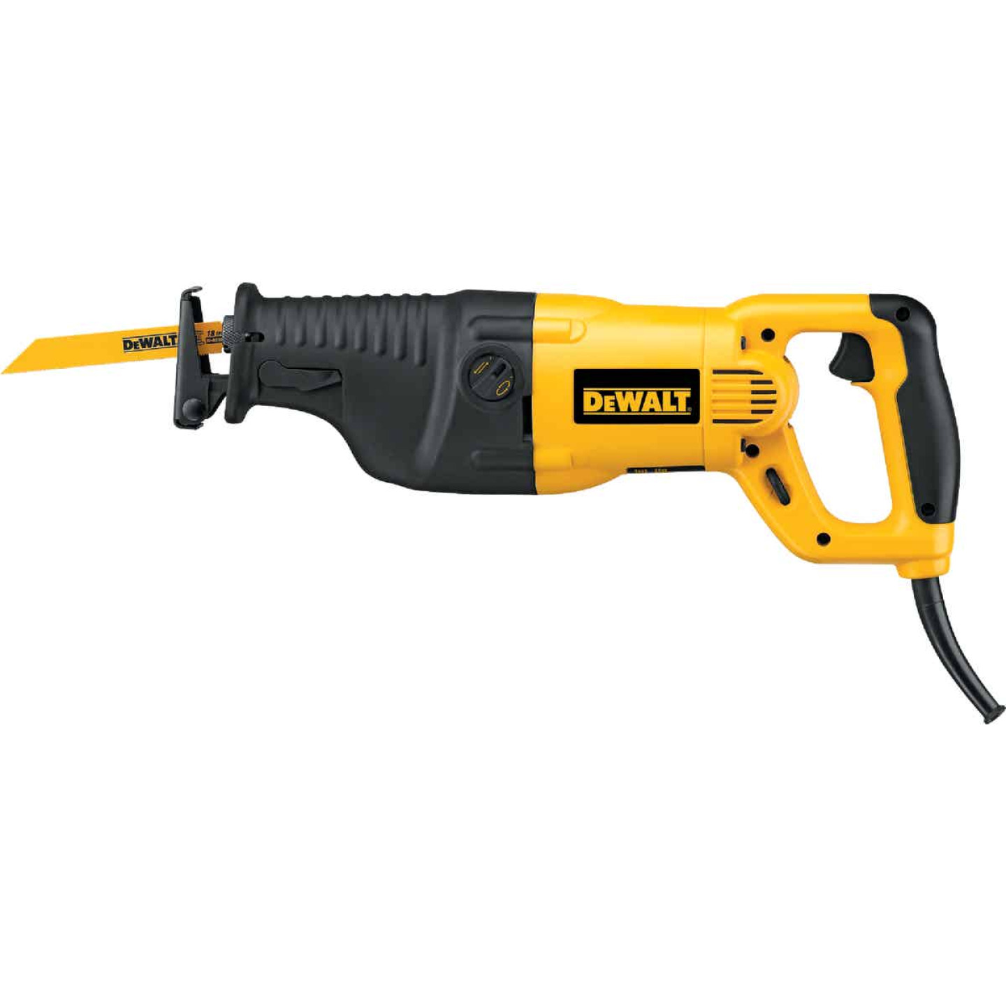 DeWalt 13-Amp Reciprocating Saw Kit Image 6