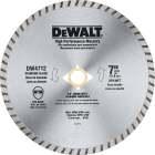DeWalt High Performance 7 In. Turbo Rim Dry/Wet Cut Diamond Blade Image 1
