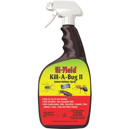Hi-Yield Kill-A-Bug II 32 Oz. Ready To Use Trigger Spray Insect Killer