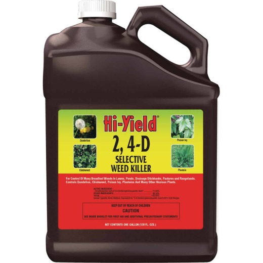 Hi-Yield 2, 4-D 1 Gal. Concentrate Selective Weed Killer
